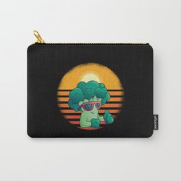 Broccoli Vegan Vegetables Funny Carry-All Pouch