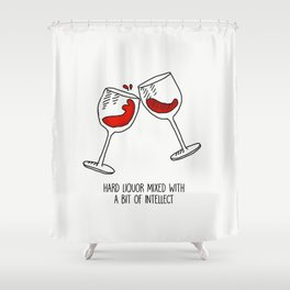 Harry Styles Kiwi Liquor Shower Curtain