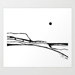 Landscape 040112 Art Print