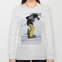 Natural High   - Ski Jump Landing Long Sleeve T-shirt