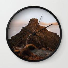 Skaros Rock, Santorini Wall Clock