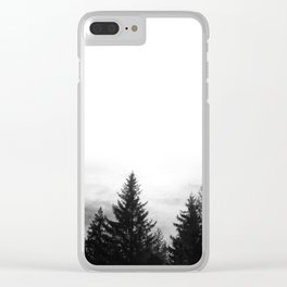 Finding myself Clear iPhone Case