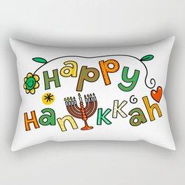 Happy Hanukkah Rectangular Pillow