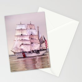 Tall Ships in Boston -USCG Stationery Cards