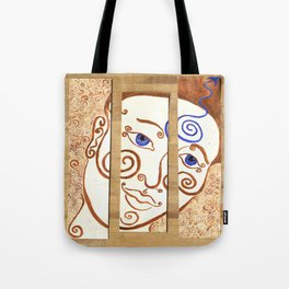 Contemplation of Ajna Tote Bag