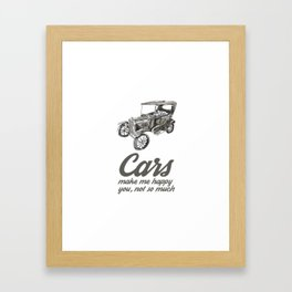 Vintage Car 1 Framed Art Print