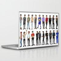zayn malik Laptop & iPad Skins featuring 22 Zayn Malik by justsomestuff