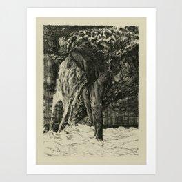Back to Dust Art Print
