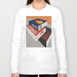 Fahrenheit 451, François Truffaut, minimal movie poster, french film, Ray Bradbury, book Long Sleeve T-shirt