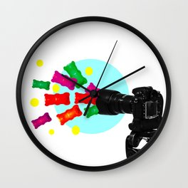 Jello shot Wall Clock