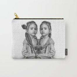 Sisters Twins Carry-All Pouch