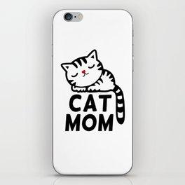 Cat Mom iPhone Skin