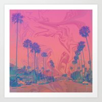 california Art Prints featuring California by Cale potts Art