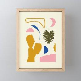 Simple Garden Framed Mini Art Print