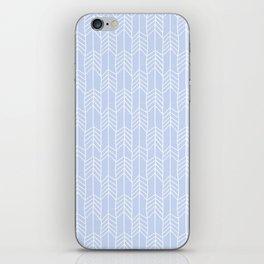 Arrows in Blue iPhone Skin