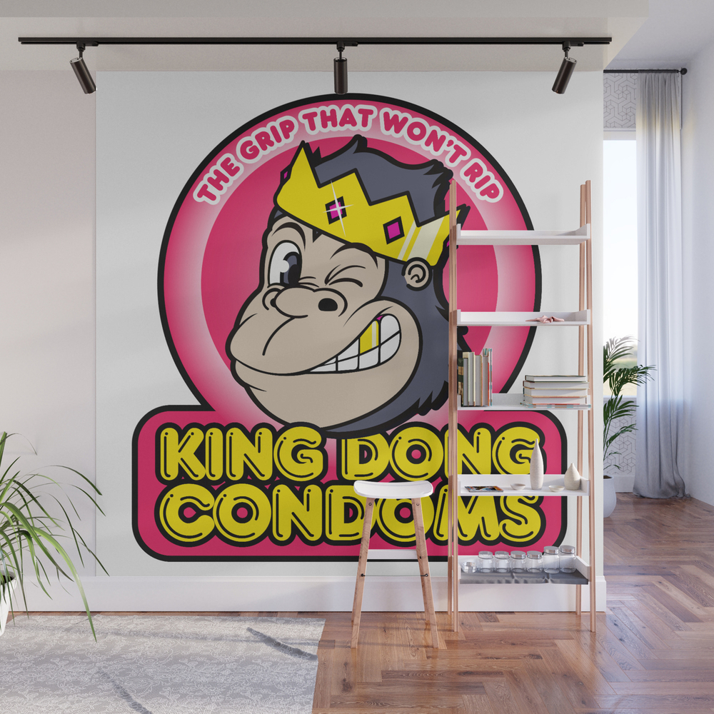 King Dong Condoms Wall Mural by Buyproduct WMP8441822
