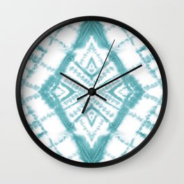 Dye Diamond Sea Salt Wall Clock