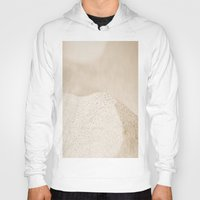 sand Hoodies featuring sand by  Agostino Lo Coco