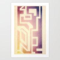 bleach Art Prints featuring Bleach by Chris Viel