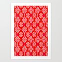 Stella in Red Pattern by christinamaria