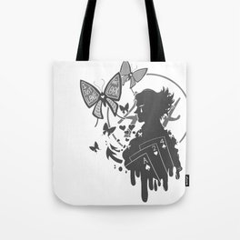 Clown profile Tote Bag