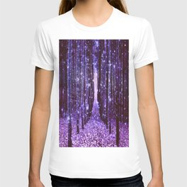 Magical Forest Purple T-shirt