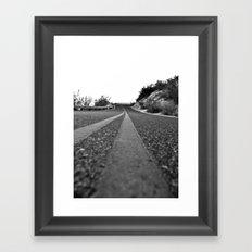 Winding Up Framed Art Print
