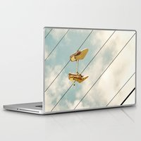 shoes Laptop & iPad Skins featuring Shoes by ZenzPhotography