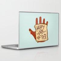 turkey Laptop & iPad Skins featuring TURKEY SAMMIDGES by Josh LaFayette