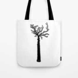 Black & White Tree's Tote Bag