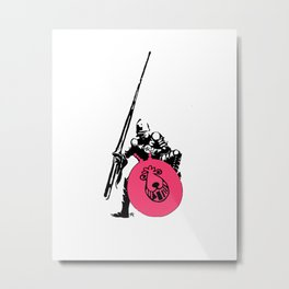 Everyday heroes - Bounce Champion Metal Print