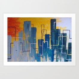Urban Impressions Art Print