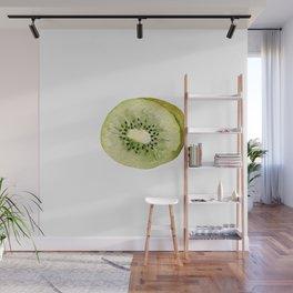 Sweet green kiwi Wall Mural