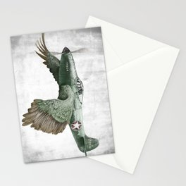 In which it's a bird. It's a plane. (Now in technicolour) Stationery Cards