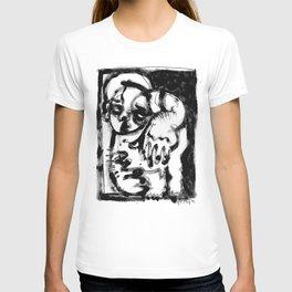 Lonesome Saint - b&w T-shirt