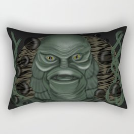 The Creature from the Black Lagoon Rectangular Pillow