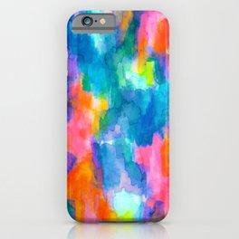 Paradise (Blue) iPhone Case