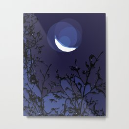 True Moonlight Metal Print