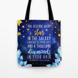 Star and Diamonds Tote Bag