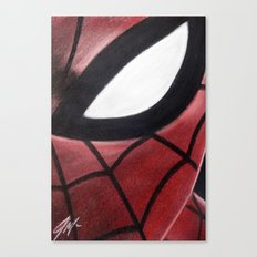 SPIDEY FACE Canvas Print