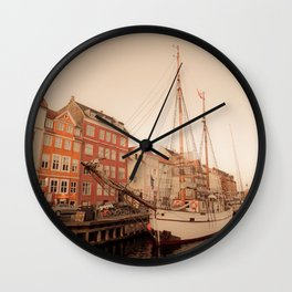 By the Nyhavn Wall Clock