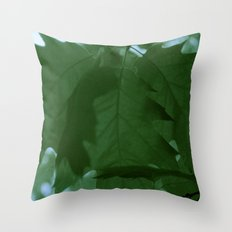 The Mighty Red Oak! Throw Pillow