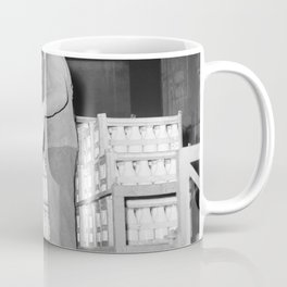 Melkfabriek man noteert de hoeveelheden, Bestanddeelnr 252 9460 Coffee Mug