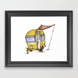 Tiny Camper Framed Art Print
