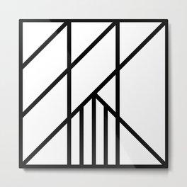 Bold Deco Metal Print
