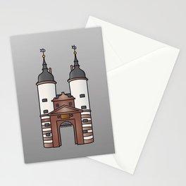 Bridge gate Heidelberg Stationery Cards
