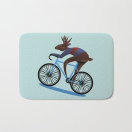 'Tis the season to be cycling Bath Mat