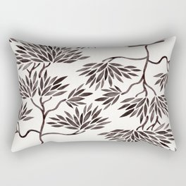 Bonsai Tree – Black Palette Rectangular Pillow