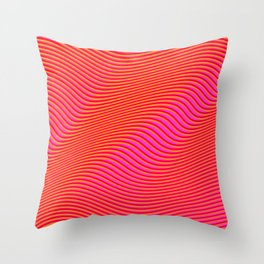 Fancy Curves Throw Pillow