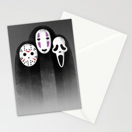 The Three MASKeteers Stationery Cards